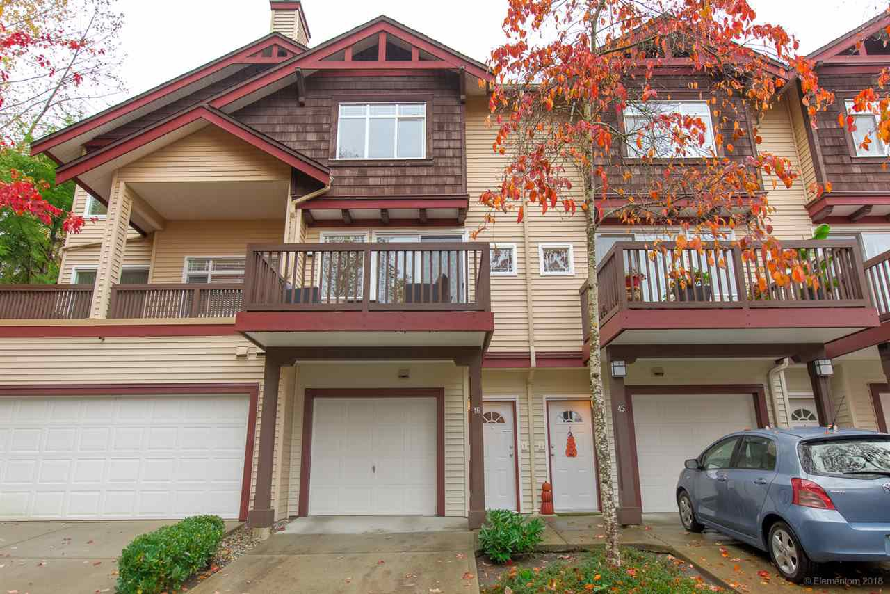 "Main Photo: 46 15 FOREST PARK Way in Port Moody: Heritage Woods PM Townhouse for sale in ""DISCOVERY RIDGE"" : MLS®# R2420824"