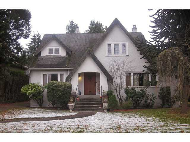 Main Photo: 6168 CHURCHILL Street in Vancouver: South Granville House for sale (Vancouver West)  : MLS®# V920983