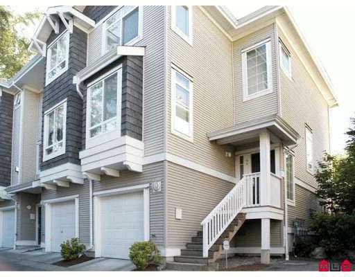 Main Photo: 34 15030 58 in Surrey: Townhouse for sale : MLS®# F2614899