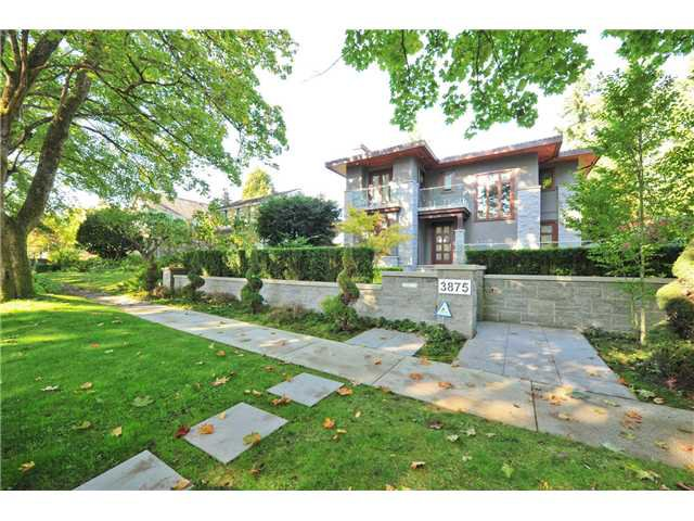 "Main Photo: 3875 W 36TH Avenue in Vancouver: Dunbar House for sale in ""DUNBAR"" (Vancouver West)  : MLS®# V1113971"