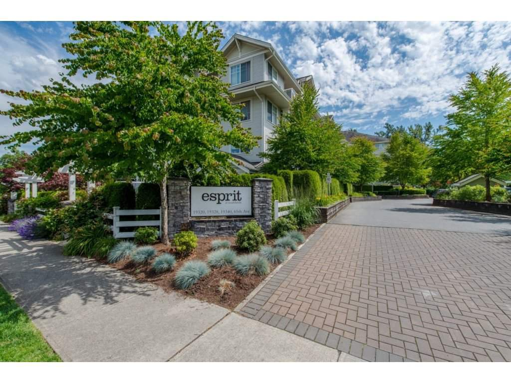 "Main Photo: 109 19320 65 Avenue in Surrey: Clayton Condo for sale in ""Esprit at Southlands"" (Cloverdale)  : MLS®# R2084871"
