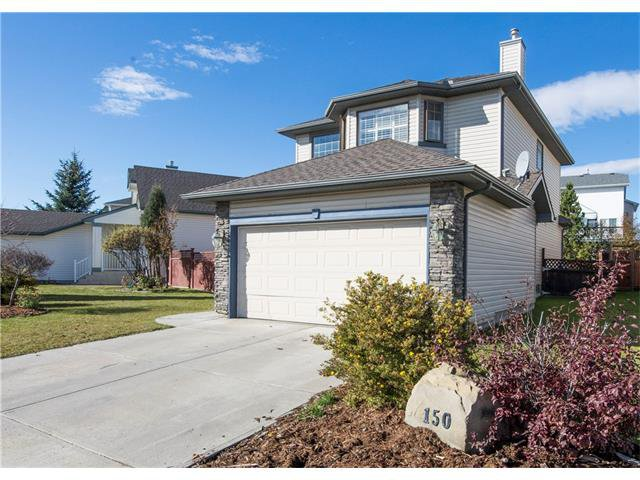 Main Photo: 150 BRIDLECREEK Park SW in Calgary: Bridlewood House for sale : MLS®# C4086800