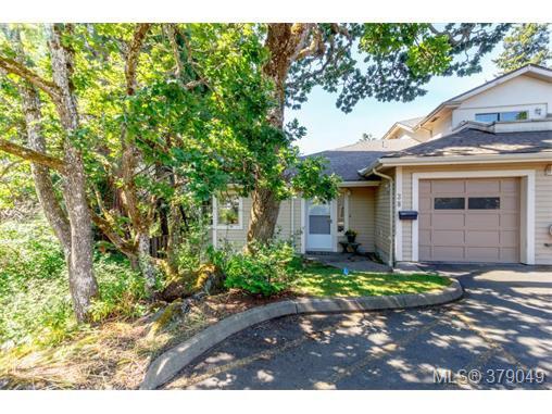 Main Photo: 38 850 Parklands Drive in VICTORIA: Es Gorge Vale Townhouse for sale (Esquimalt)  : MLS®# 379049