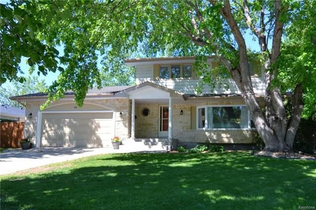 Main Photo: 54 Barker Boulevard in Winnipeg: River West Park Residential for sale (1F)  : MLS®# 1816615