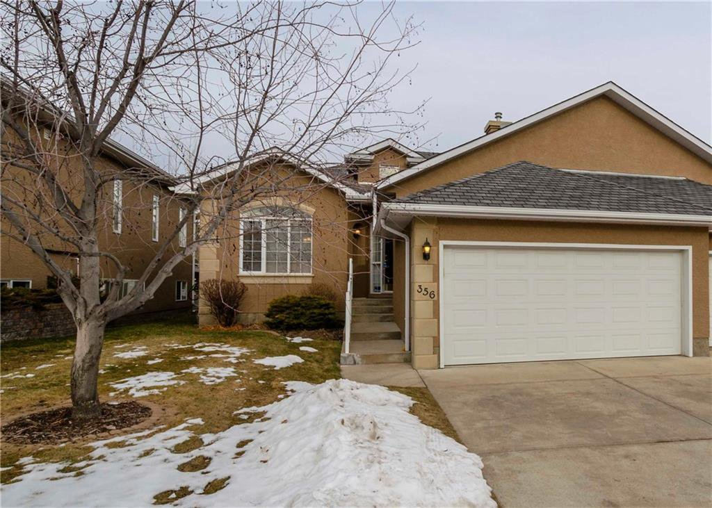 Main Photo: 356 SIGNATURE Court SW in Calgary: Signal Hill Semi Detached for sale : MLS®# C4220141