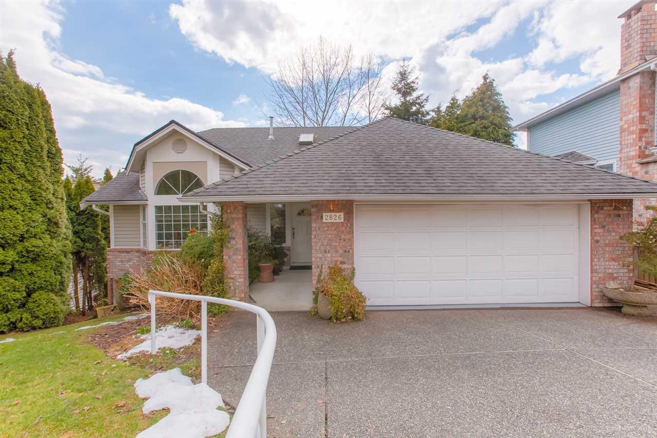 "Main Photo: 2826 NASH Drive in Coquitlam: Scott Creek House for sale in ""SCOTT CREEK"" : MLS®# R2349854"