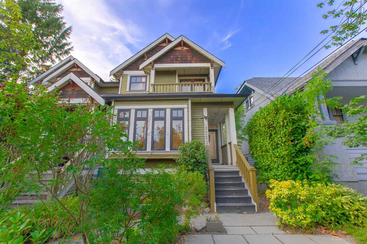 Main Photo: 1253 E 14TH Avenue in Vancouver: Mount Pleasant VE House 1/2 Duplex for sale (Vancouver East)  : MLS®# R2398819