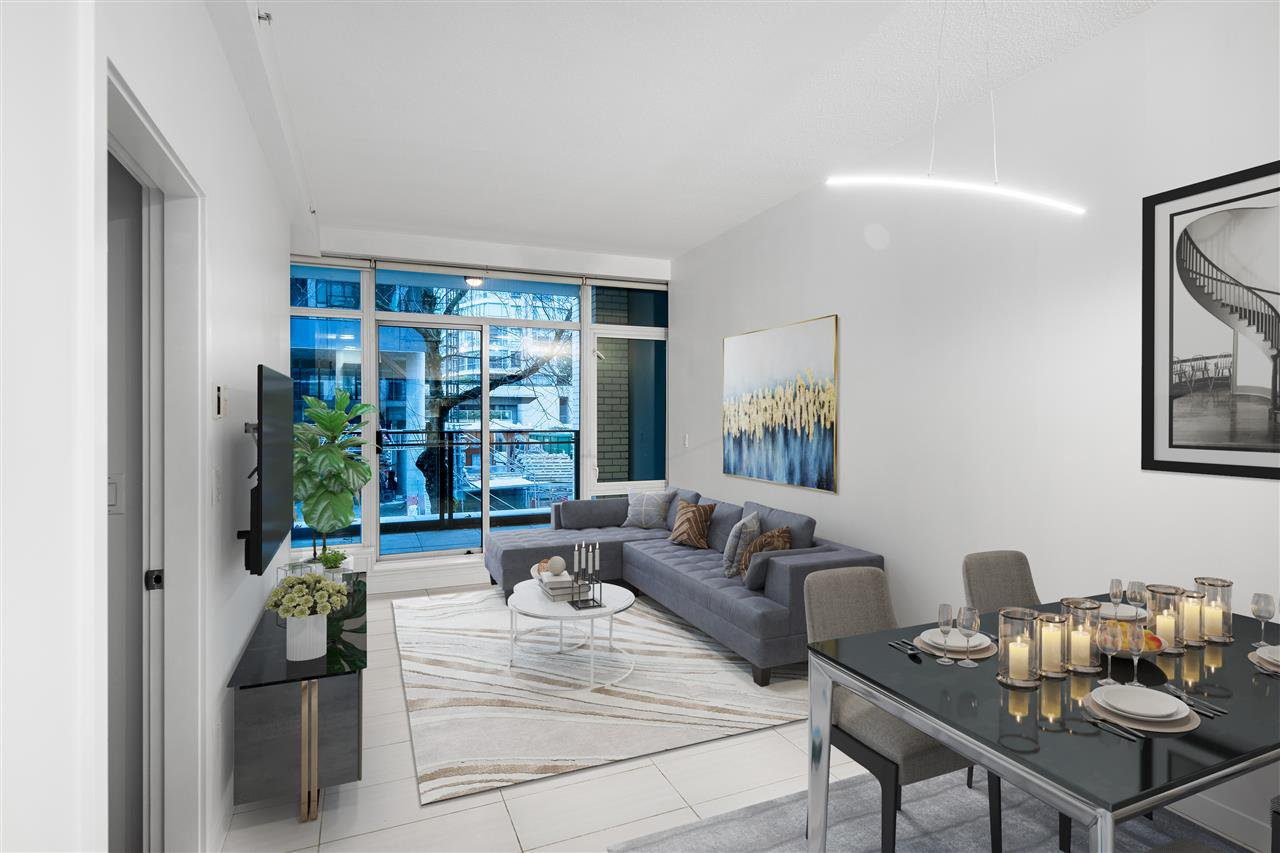Main Photo: 202 1252 HORNBY Street in Vancouver: Downtown VW Condo for sale (Vancouver West)  : MLS®# R2428176