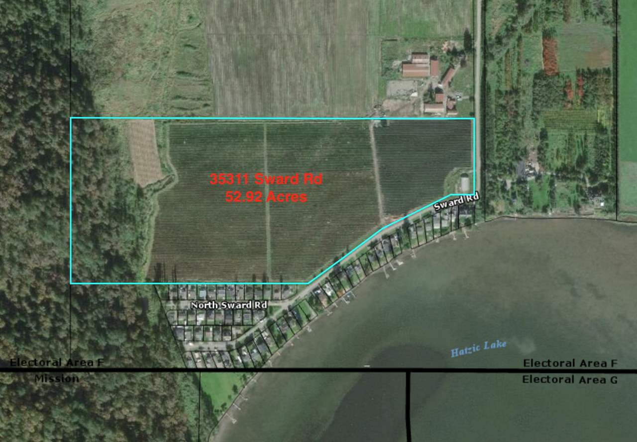 Main Photo: 35311 SWARD Road in Mission: Durieu Land for sale : MLS®# R2500269