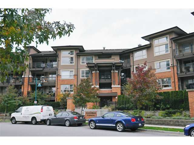 "Main Photo: 216 600 KLAHANIE Drive in Port Moody: Port Moody Centre Condo for sale in ""BOARDWALK"" : MLS®# V918609"