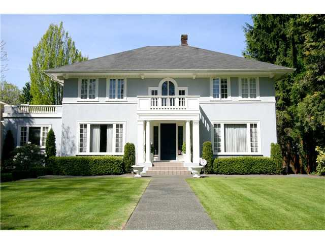 Main Photo: 6061 CHURCHILL ST in Vancouver: South Granville House for sale (Vancouver West)  : MLS®# V1040857