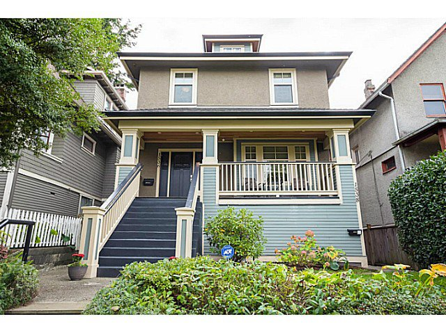 "Main Photo: 1536 E 13TH Avenue in Vancouver: Grandview VE House for sale in ""COMMERCIAL DRIVE"" (Vancouver East)  : MLS®# V1088551"