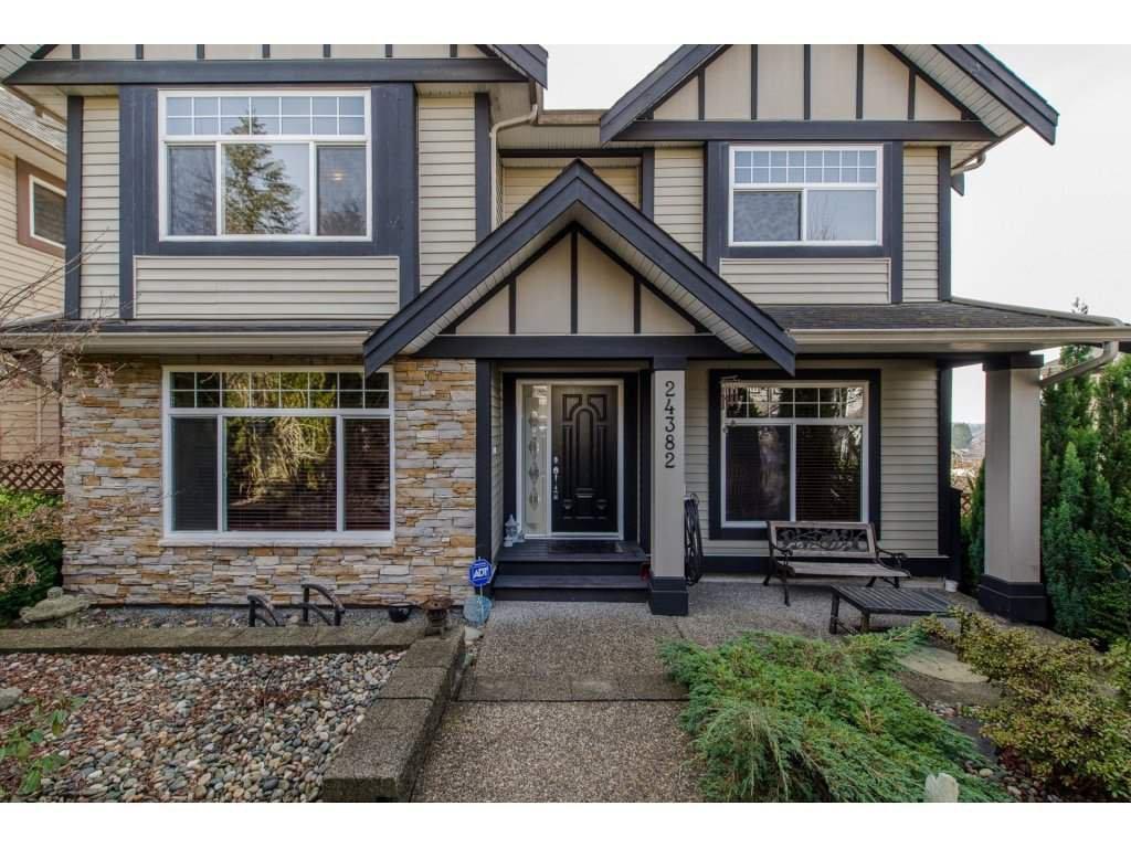 "Main Photo: 24382 104 Avenue in Maple Ridge: Albion House for sale in ""CALEDON LANDING"" : MLS®# R2135098"