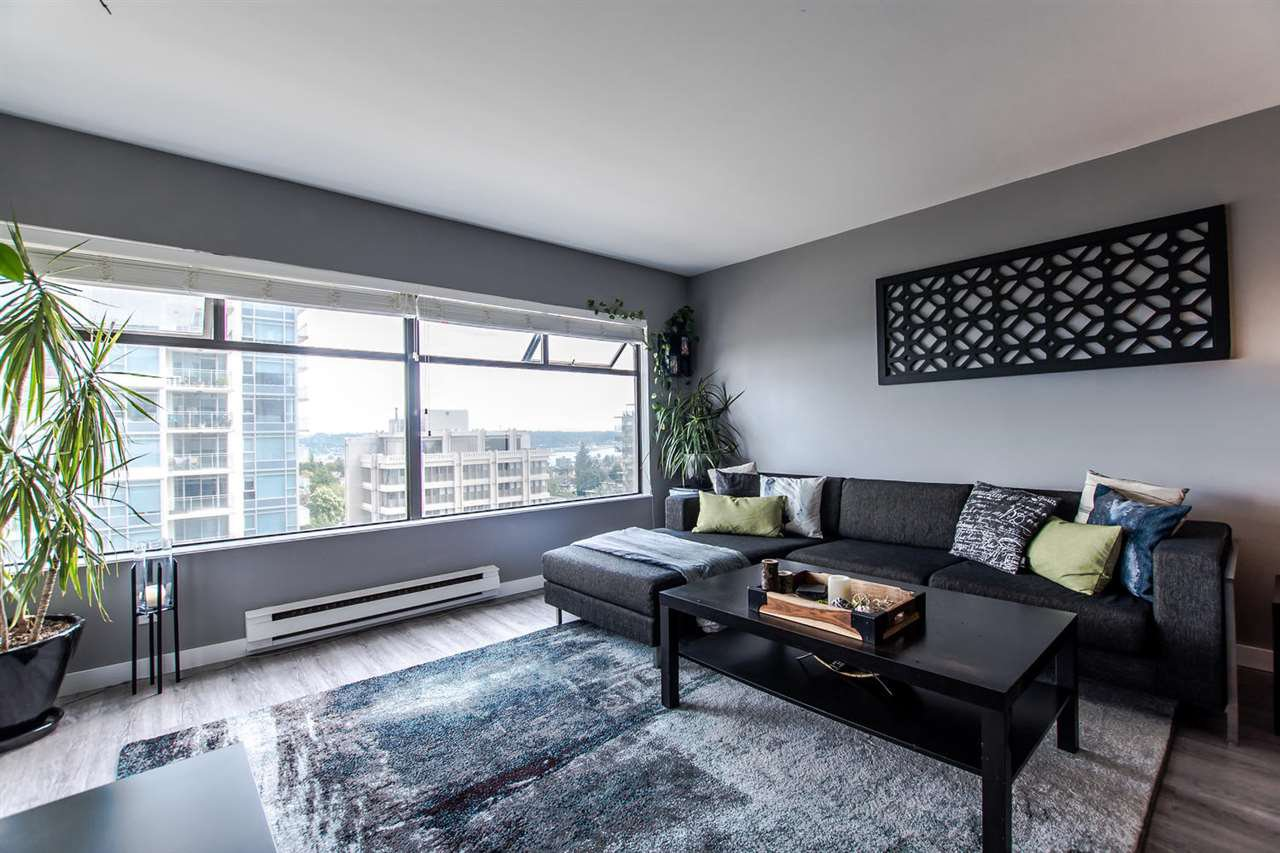 Main Photo: 906 615 BELMONT Street in New Westminster: Uptown NW Condo for sale : MLS®# R2168866