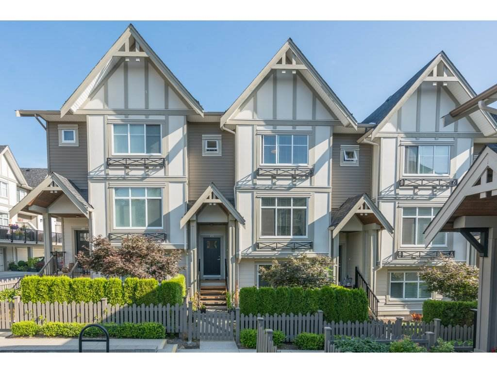 "Main Photo: 16 6588 195A Street in Surrey: Clayton Townhouse for sale in ""ZEN"" (Cloverdale)  : MLS®# R2197611"