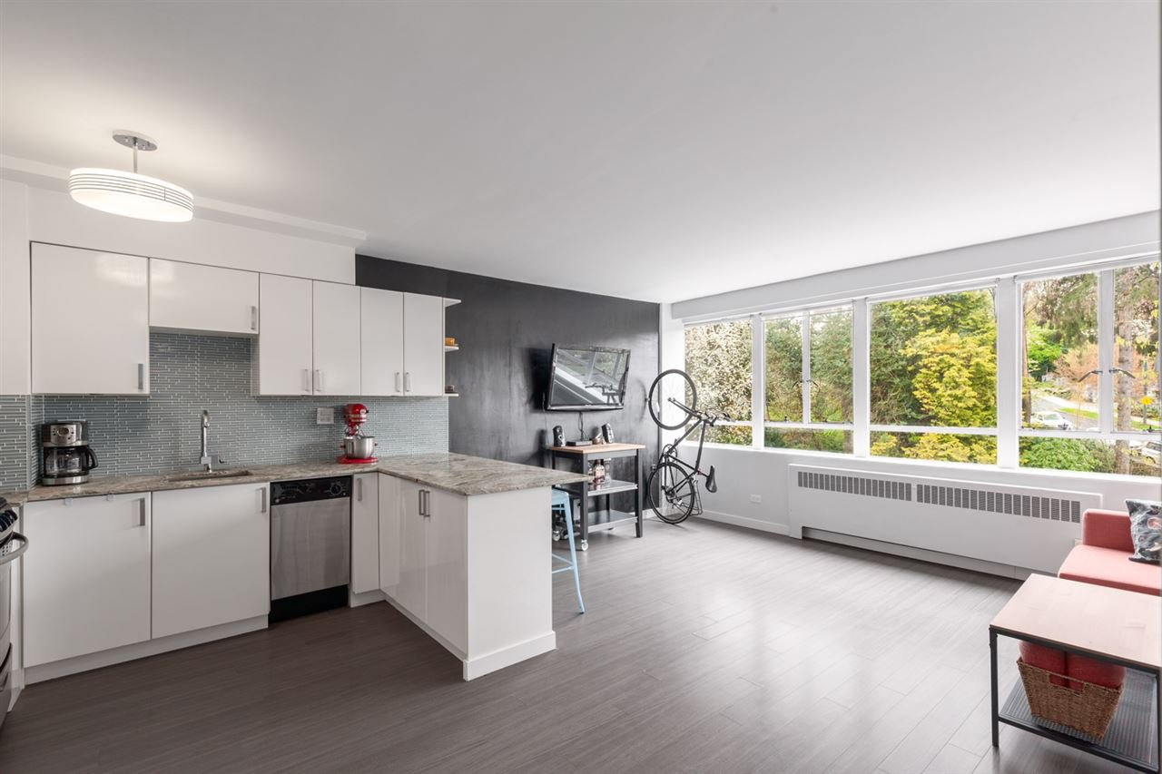 """Main Photo: 603 1445 MARPOLE Avenue in Vancouver: Fairview VW Condo for sale in """"HYCROFT TOWERS"""" (Vancouver West)  : MLS®# R2361588"""