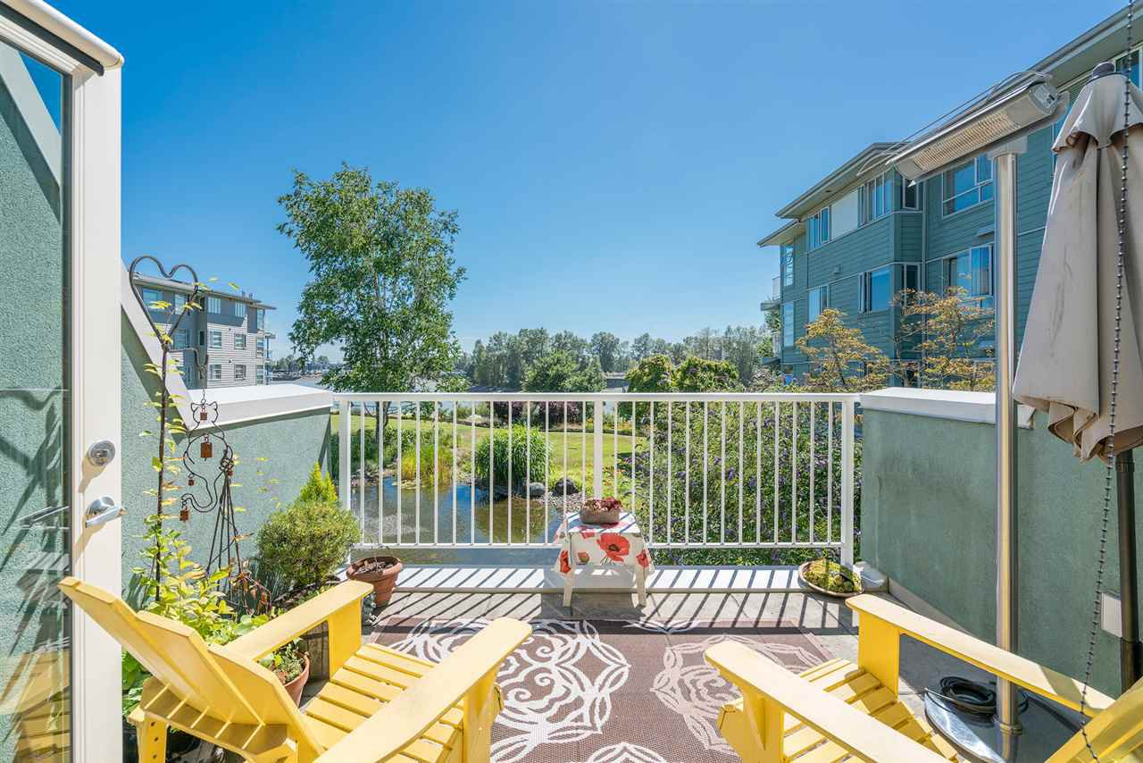 "Main Photo: 1930 E KENT AVENUE SOUTH in Vancouver: South Marine Townhouse for sale in ""Harbour House"" (Vancouver East)  : MLS®# R2380721"
