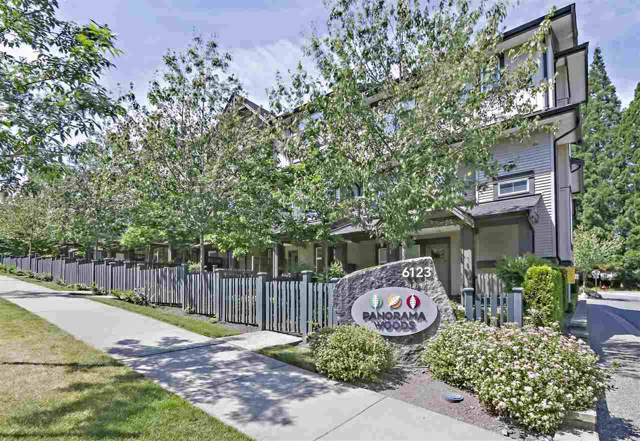 "Main Photo: 90 6123 138 Street in Surrey: Sullivan Station Townhouse for sale in ""PANORAMA WOODS"" : MLS®# R2381225"