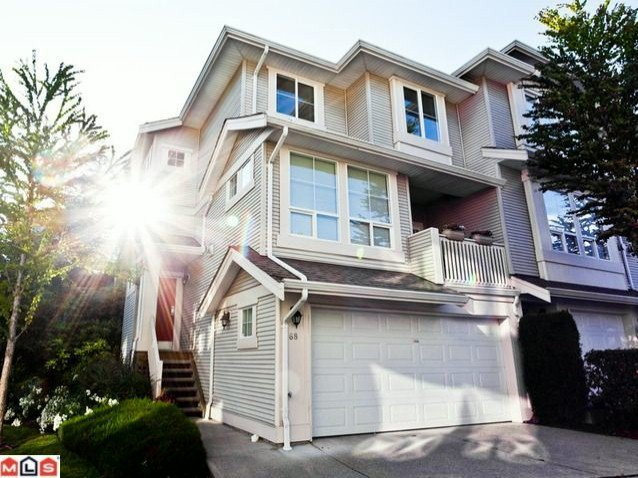 "Main Photo: 68 14952 58TH Avenue in Surrey: Sullivan Station Townhouse for sale in ""HIGHBRAE"" : MLS®# F1116716"
