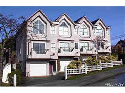 Main Photo: 3154 Washington Ave in VICTORIA: Vi Burnside Row/Townhouse for sale (Victoria)  : MLS®# 257811