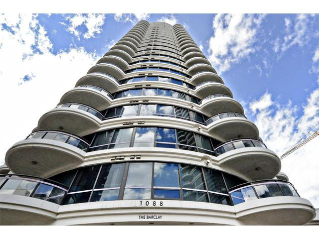 Main Photo: 1102 1088 6 Avenue SW in Calgary: Downtown West End Condo for sale : MLS®# C4004240