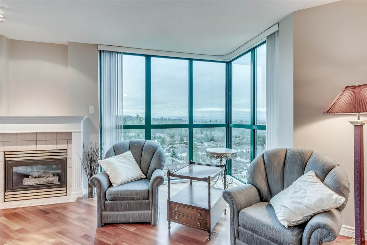"""Main Photo: 1402 1196 PIPELINE Road in Coquitlam: North Coquitlam Condo for sale in """"THE HUDSON"""" : MLS®# R2022380"""