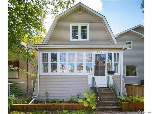 Main Photo: 332 Machray Avenue in Winnipeg: Sinclair Park Residential for sale (4C)  : MLS®# 1624346