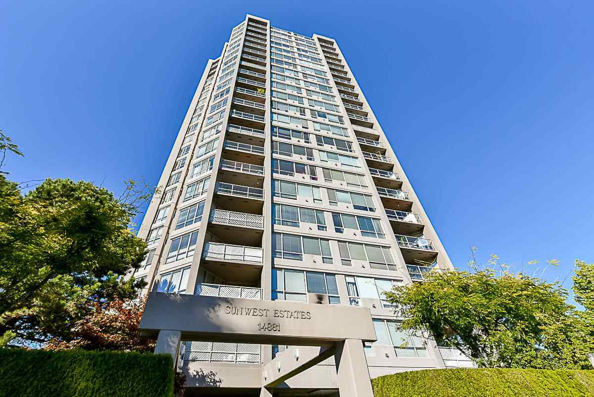 "Main Photo: 1302 14881 103A Avenue in Surrey: Guildford Condo for sale in ""SUNWEST ESTATES"" (North Surrey)  : MLS®# R2111493"