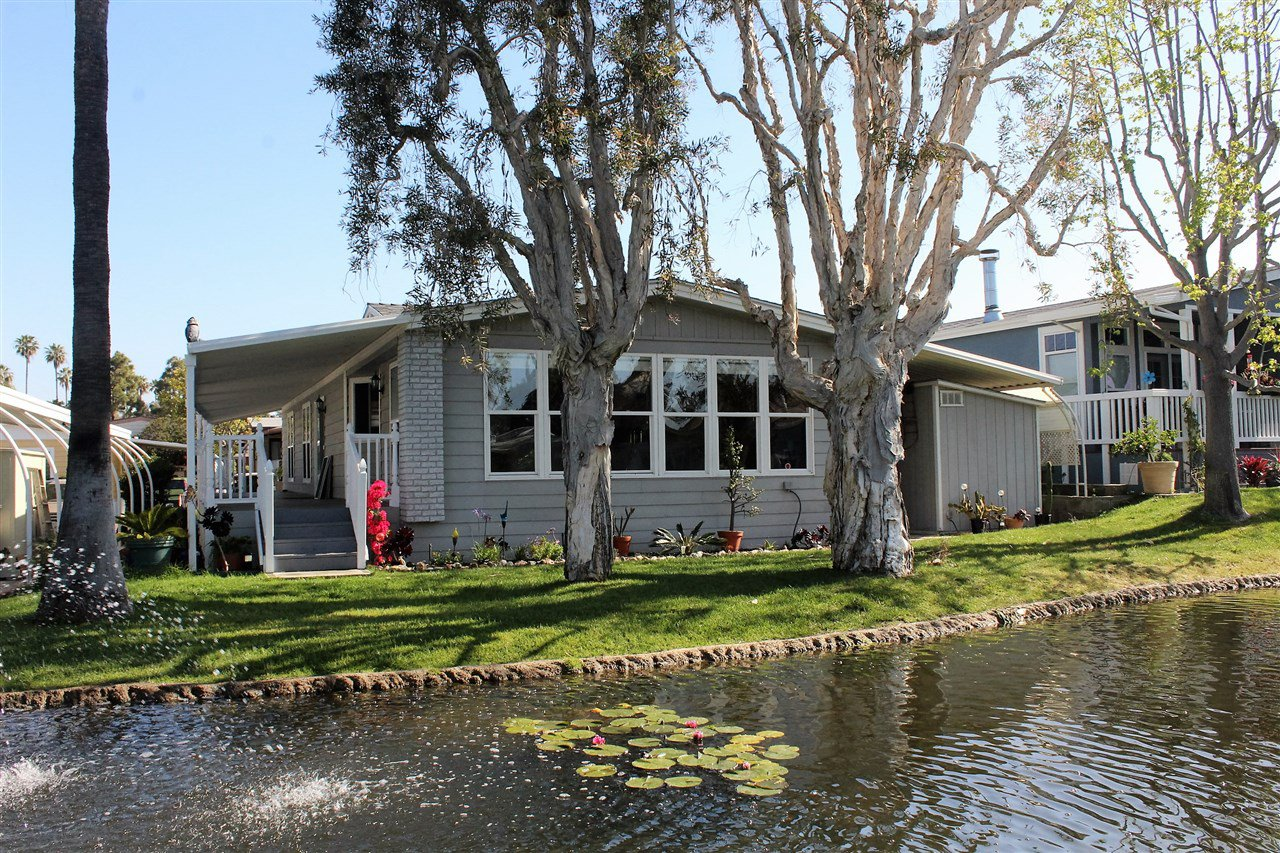 Main Photo: CARLSBAD WEST Manufactured Home for sale : 2 bedrooms : 7221 San Benito #343 in Carlsbad