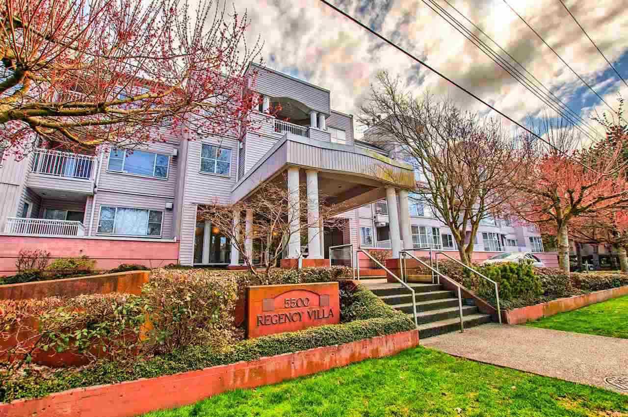 """Photo 1: Photos: 202 5500 ARCADIA Road in Richmond: Brighouse Condo for sale in """"REGENCY VILLA"""" : MLS®# R2159326"""