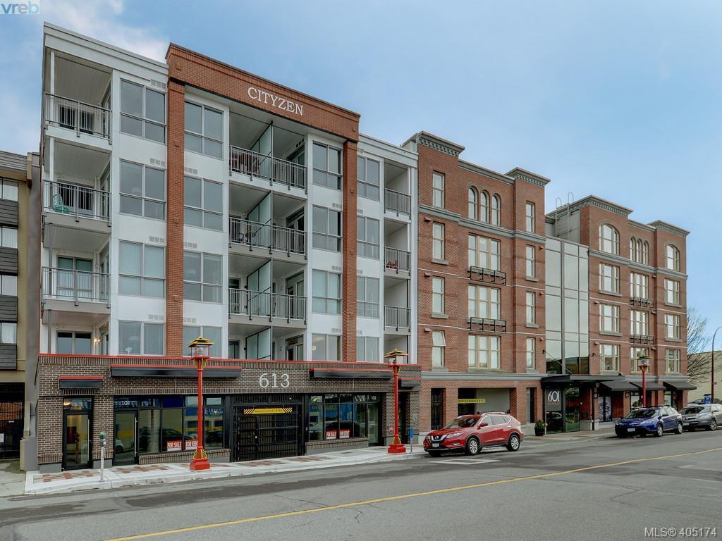 Main Photo: 206 613 Herald Street in VICTORIA: Vi Downtown Condo Apartment for sale (Victoria)  : MLS®# 405174