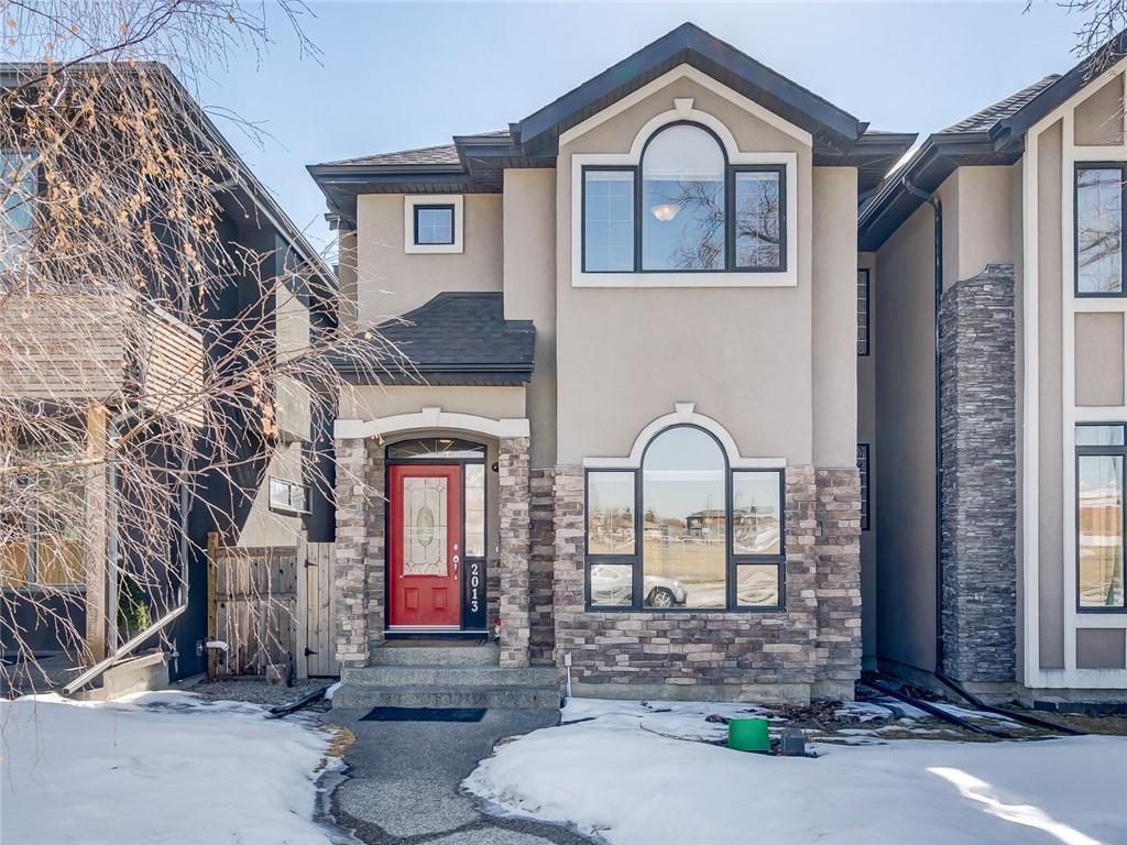 Main Photo: 2013 40 Avenue SW in Calgary: Altadore Semi Detached for sale : MLS®# C4235450