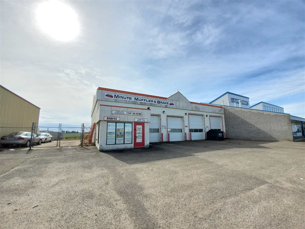Main Photo: 5417 36 Avenue: Wetaskiwin Industrial for sale : MLS®# E4173654