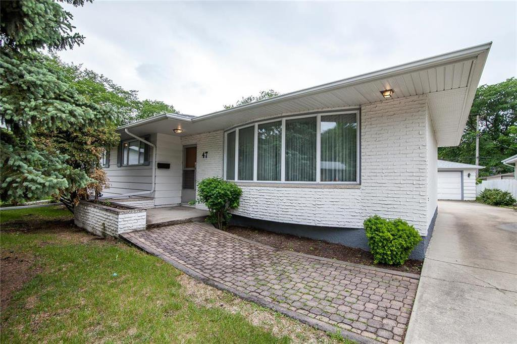 Main Photo: 47 Athlone Drive in Winnipeg: Grace Hospital Residential for sale (5F)  : MLS®# 202012947