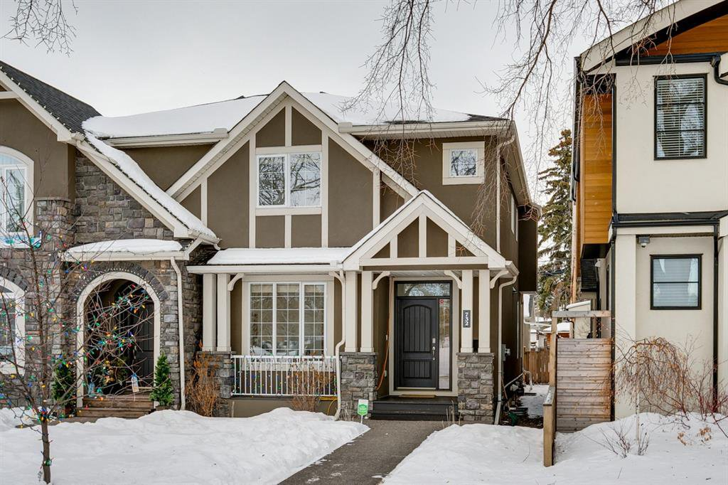 Main Photo: 732 34 Street NW in Calgary: Parkdale Semi Detached for sale : MLS®# A1056903
