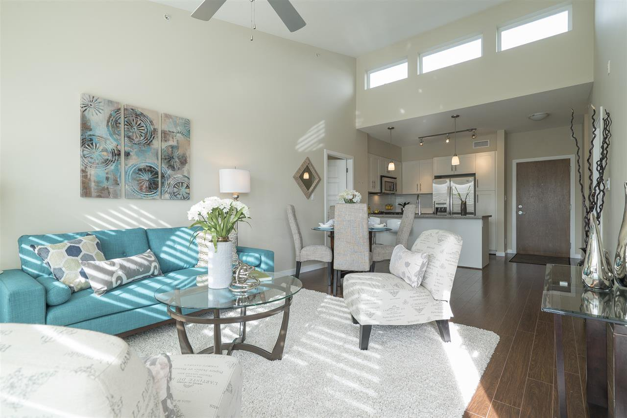 """Main Photo: 409 23215 BILLY BROWN Road in Langley: Fort Langley Condo for sale in """"WATERFRONT AT BEDFORD LANDING"""" : MLS®# R2139150"""