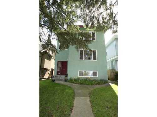 Main Photo: 138 17TH Ave W in Vancouver West: Home for sale : MLS®# V882129