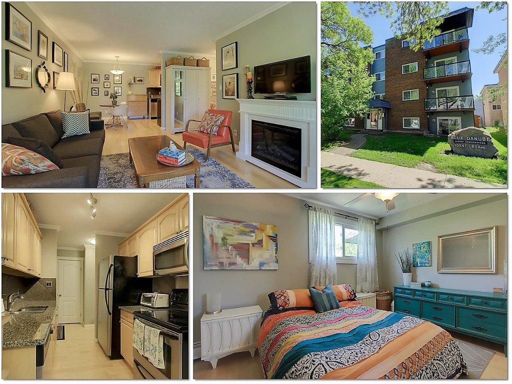 Main Photo: 401 10547 83 Avenue in Edmonton: Zone 15 Condo for sale : MLS®# E4067090