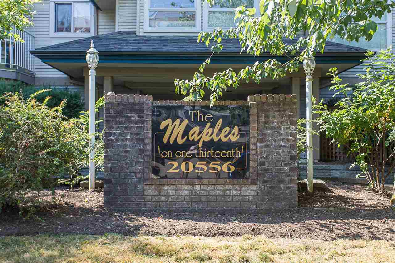 "Main Photo: 203 20556 113 Avenue in Maple Ridge: Southwest Maple Ridge Condo for sale in ""THE MAPLES"" : MLS®# R2189933"