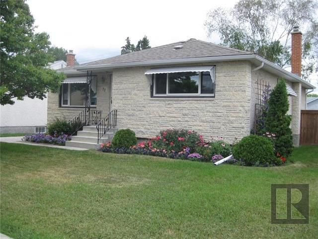 Main Photo: 77 Lennox Avenue in Winnipeg: Residential for sale (2D)  : MLS®# 1819637
