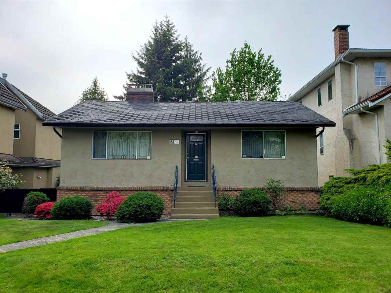 Main Photo: 8141 LAUREL Street in Vancouver: Marpole House for sale (Vancouver West)  : MLS®# R2367831