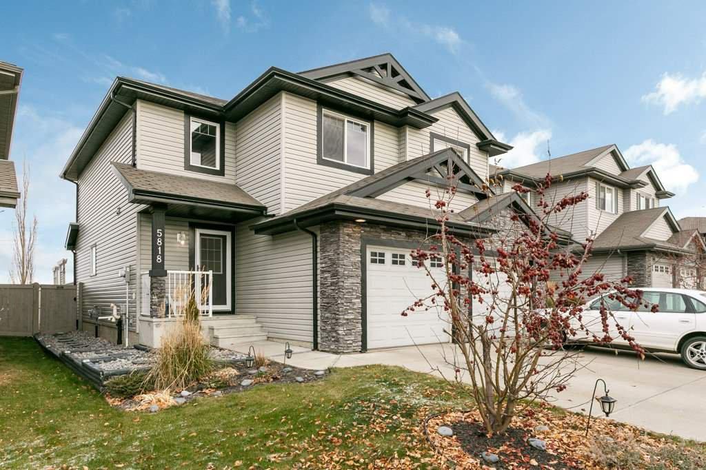 Main Photo: 5818 1A Avenue in Edmonton: Zone 53 House Half Duplex for sale : MLS®# E4195933