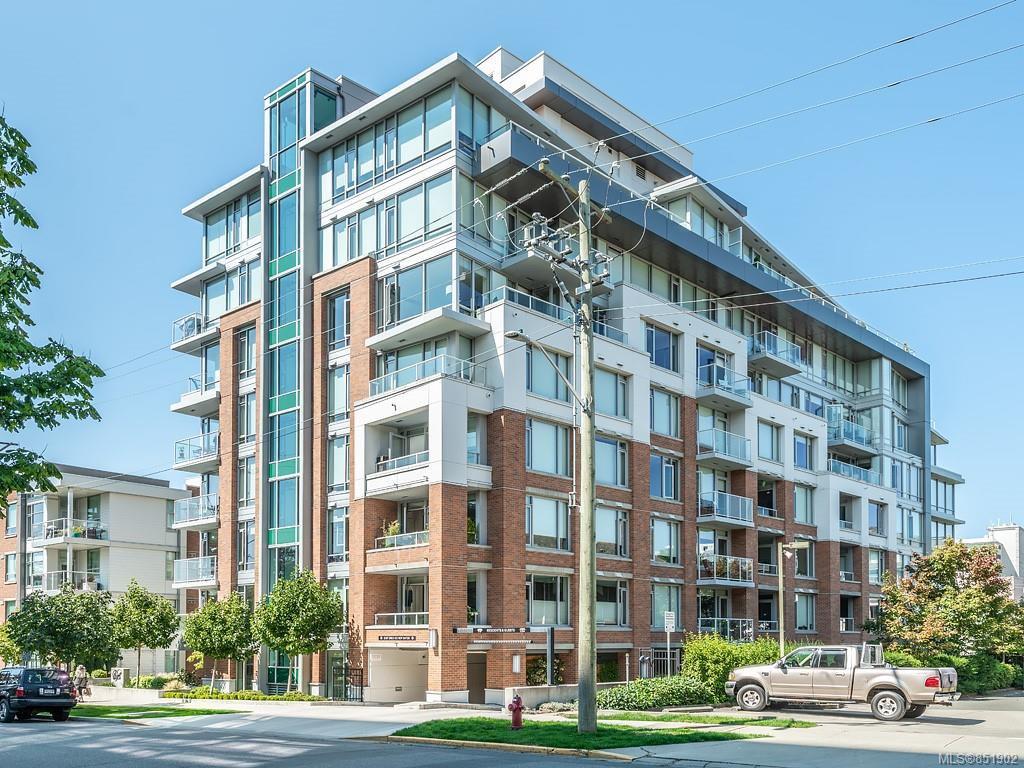 Main Photo: 404 646 Michigan St in : Vi Downtown Condo for sale (Victoria)  : MLS®# 851902