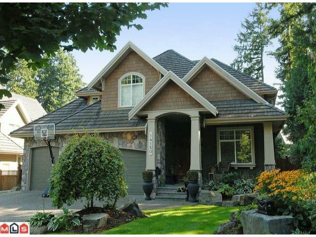 """Main Photo: 14160 33RD Avenue in Surrey: Elgin Chantrell House for sale in """"Estates at Elgin Creek"""" (South Surrey White Rock)  : MLS®# F1123079"""