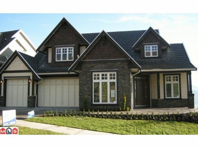 "Main Photo: 2672 PLATINUM Lane in Abbotsford: Abbotsford East House for sale in ""EAGLE MOUNTAIN"" : MLS®# F1129272"
