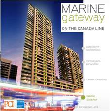 Main Photo: #1503 at Marine Gateway in Vancouver: Cambie Condo  (Vancouver West)