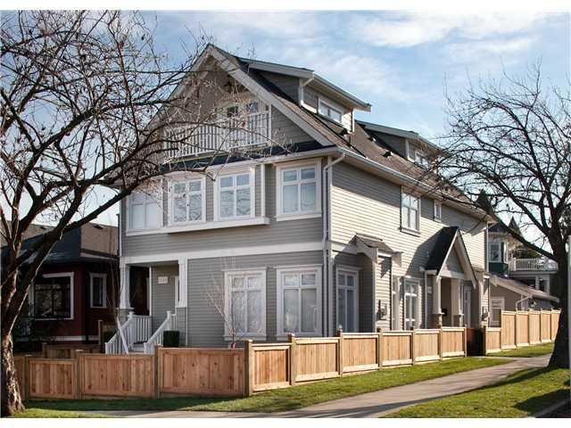 Main Photo: 1104 E 11TH Avenue in Vancouver: Mount Pleasant VE House 1/2 Duplex for sale (Vancouver East)  : MLS®# V1038207