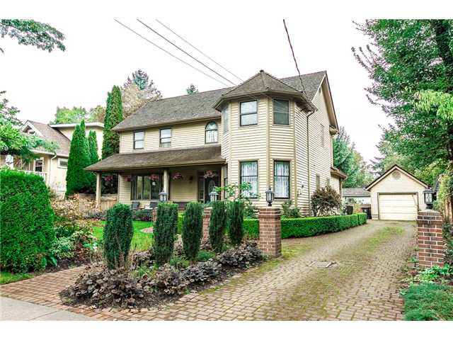 Main Photo: 505 FIFTH Street in New Westminster: Queens Park House for sale : MLS®# V1089746