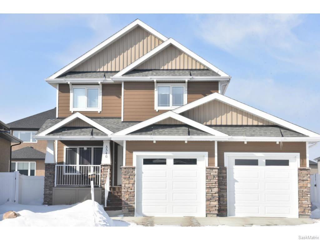 Main Photo: 3546 GREEN MARSH Crescent in Regina: Greens on Gardiner Single Family Dwelling for sale (Regina Area 04)  : MLS®# 600064