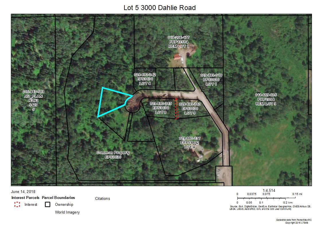 "Main Photo: 5 3000 DAHLIE Road in Smithers: Smithers - Rural Land for sale in ""Mountain Gateway Estates"" (Smithers And Area (Zone 54))  : MLS®# R2280288"